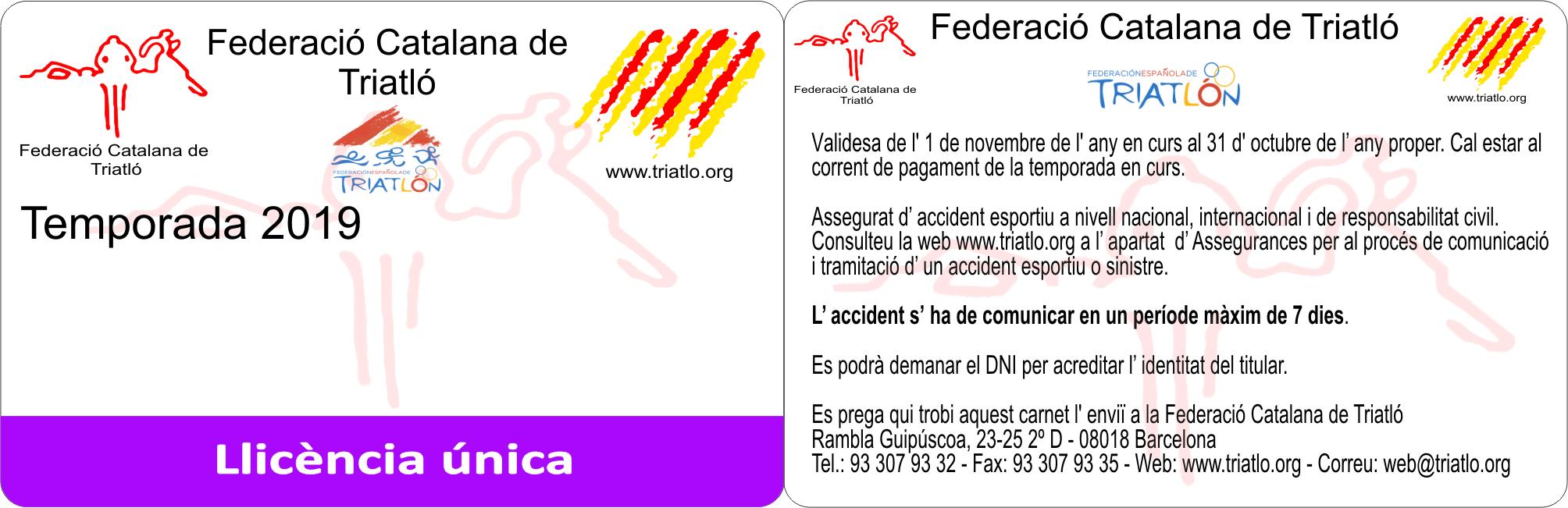 LLICÈNCIA FCT